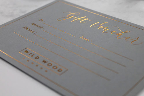 WILD WOOD LONDON GIFT VOUCHER