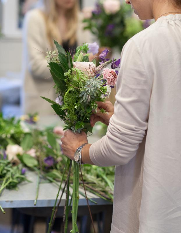 Hand Tie Bouquet Masterclass London