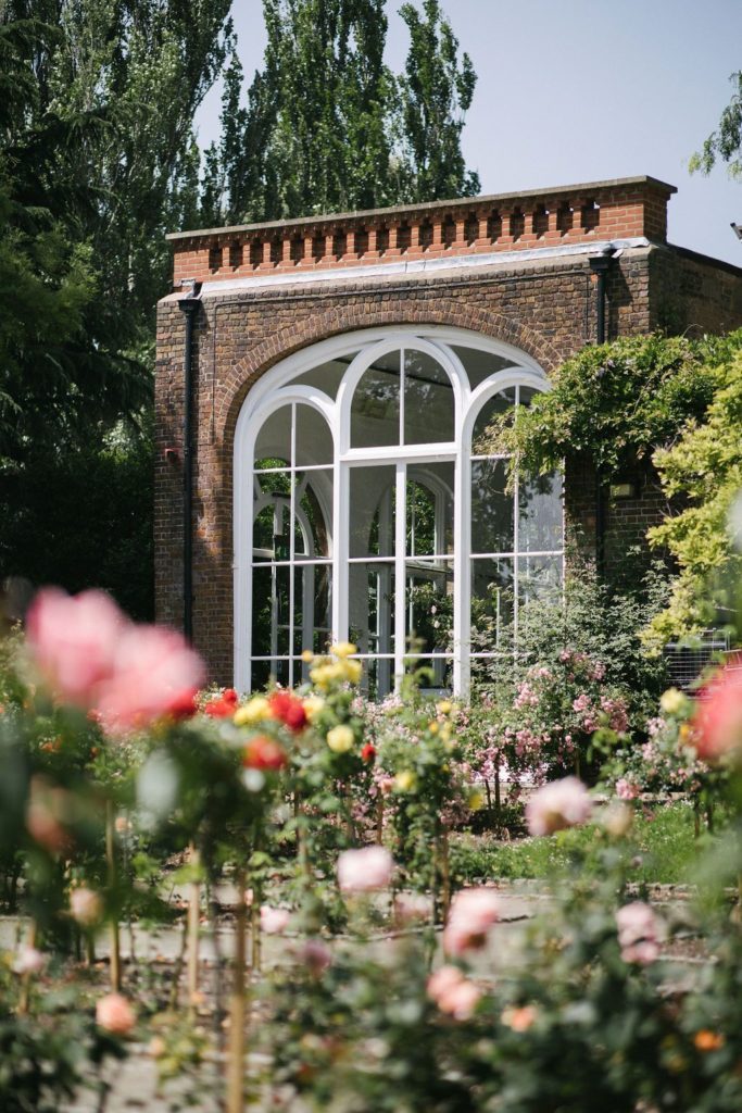 Summer Wedding at holland Park Orangery London
